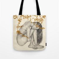 The Fragility Of Being Human Tote Bag