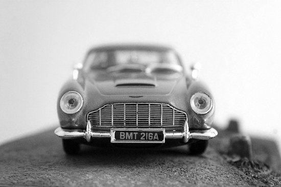 James Bond - Aston Martin Art Print