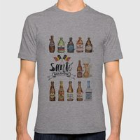 Belgium Beers Mens Fitted Tee Athletic Grey SMALL