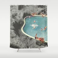 Shower Curtain featuring Is This The Place That T… by Jesse Treece