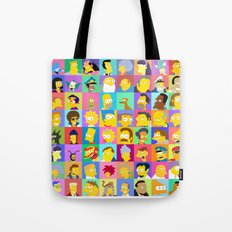 Simpsons Tote Bag