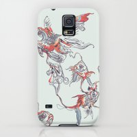 Galaxy S5 Cases featuring Floating in Deep by Huebucket