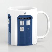 Doctor Who's Tardis Mug