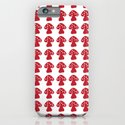 mushroom red iPhone & iPod Case