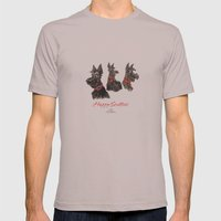 Happy scotties Mens Fitted Tee Cinder SMALL