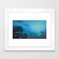 Silver River Tien Ho Framed Art Print