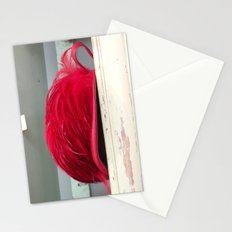 Red Deco Hat Stationery Cards