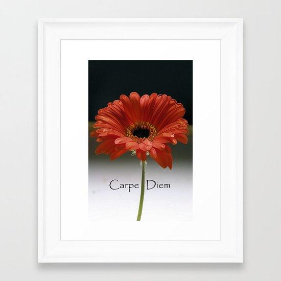 Carpe Diem (for the love of LIFE!) Framed Art Print