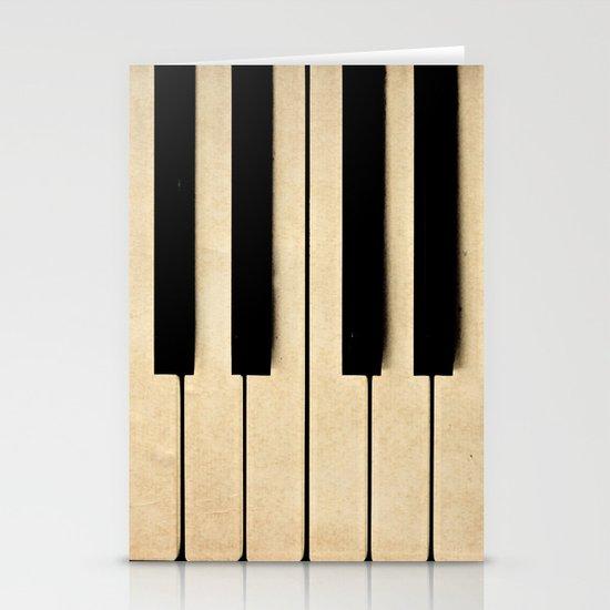 Piano Stationery Card