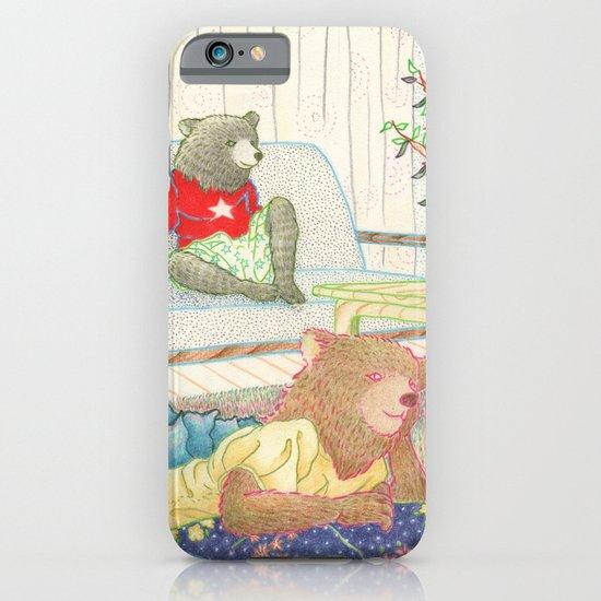 Everyday Animals- Little Bears lounge around iPhone & iPod Case