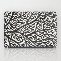 Black Fan Coral iPad Case