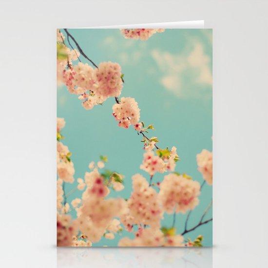 Splash of Pink Stationery Card