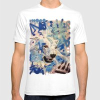 Polar Bear Mens Fitted Tee White SMALL