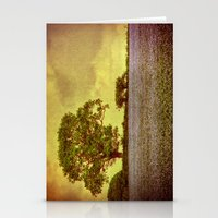 Tree In A Field Stationery Cards