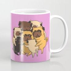 Pugs Group Hug Mug