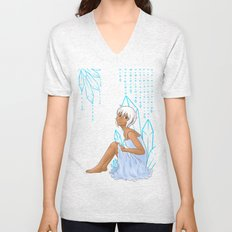 Isabelle and crystals Unisex V-Neck