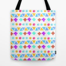 Retro pattern pencil  Tote Bag