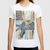 Child Soldier 2 Womens Fitted Tee Ash Grey SMALL