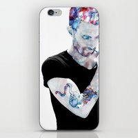 Adam Levine iPhone & iPod Skin