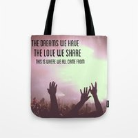 Pretty Lights Inspiration Tote Bag