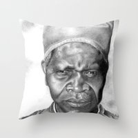 La Fé Throw Pillow