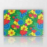 Vector Flowers Laptop & iPad Skin