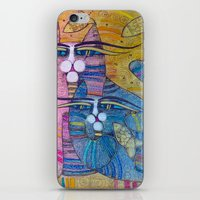 MUMMY AND ME iPhone & iPod Skin