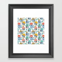 Pattern Project #38 / Do… Framed Art Print