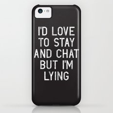 Chat iPhone 5c Slim Case
