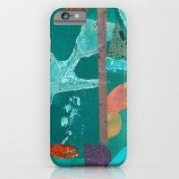 Turquoise Repeat iPhone 6 Slim Case