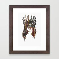 Wonderwoman Framed Art Print
