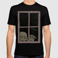 Let Me In Mens Fitted Tee Black SMALL