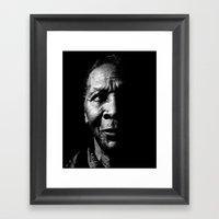 o4 Framed Art Print