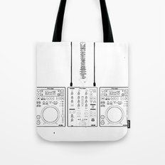 The Pioneer (CDJ Quick Connect Manual) Tote Bag