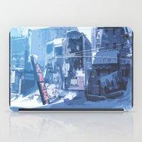 Winter Buildings iPad Case