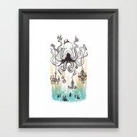 Octoluminary Framed Art Print