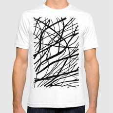 Tumble Weed White Mens Fitted Tee SMALL