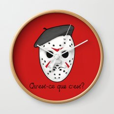 Psycho Killer Wall Clock
