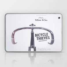 Bicycle Thieves - Movie Poster for De Sica's masterpiece. Neorealism film, fine art print. Laptop & iPad Skin