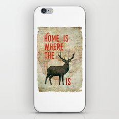 home is where the h(e)art is iPhone & iPod Skin