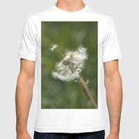 Diente De León Mens Fitted Tee White SMALL