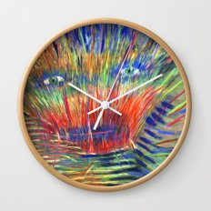 Outer Limits Wall Clock