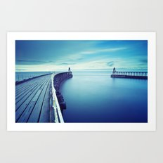 The terrestrial closest to sea Art Print