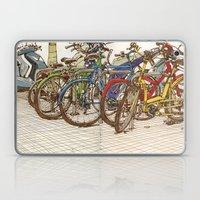 Bike Mess Laptop & iPad Skin