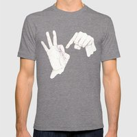 Innuendo   Mens Fitted Tee Tri-Grey SMALL