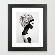 Framed Art Print featuring Marianna - Ruben Ireland… by Jenny Liz Rome