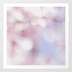 Blossom bokeh Art Print