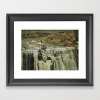 The Edge of the World Framed Art Print