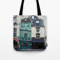 The Streets Of Paris, Fr… Tote Bag