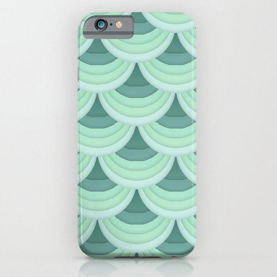 Ocean Fan Tail. iPhone & iPod Case